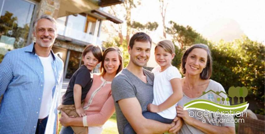 Un domicile, deux familles