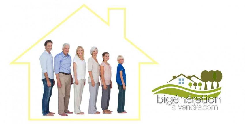 Maison bi-génération et intergénérationnelle 101